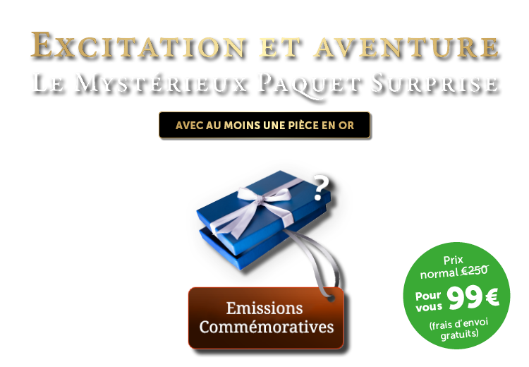 Mystérieux Paquet Surprise Commemorative