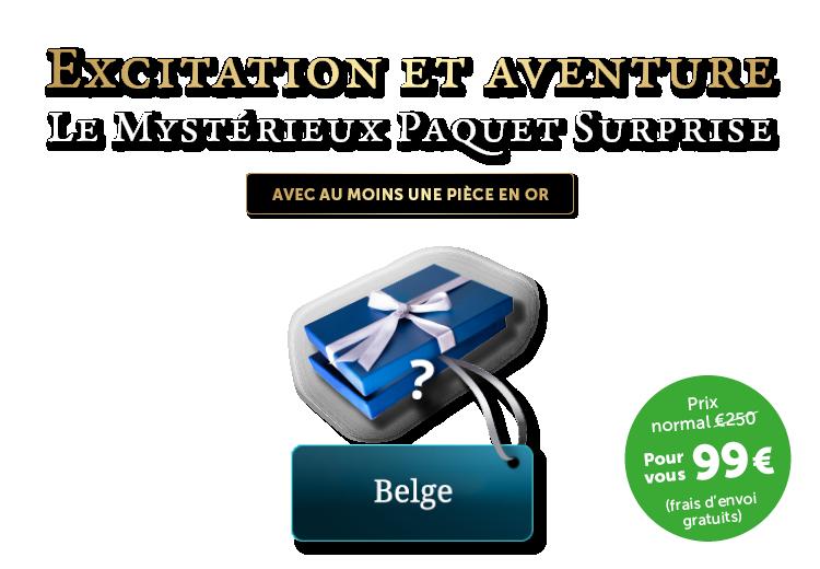 Mystérieux Paquet Surprise Belge