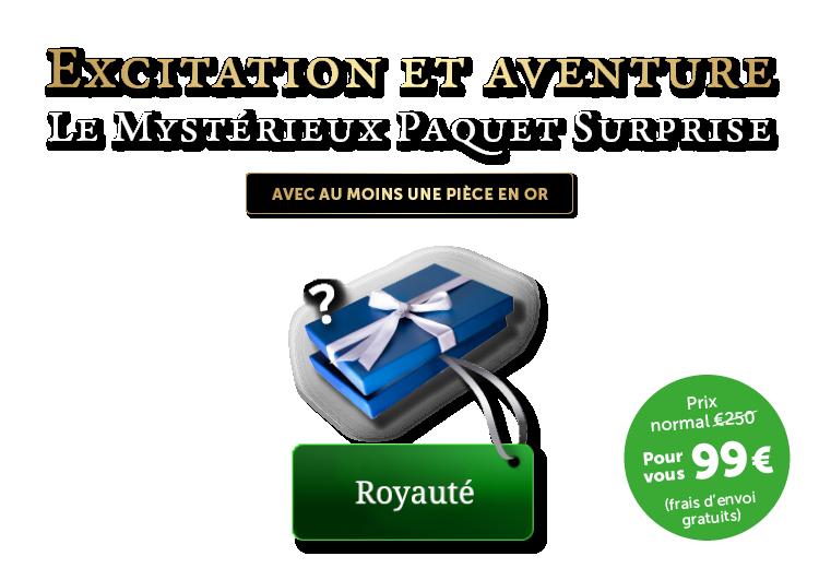 Mystérieux Paquet Surprise Royauté