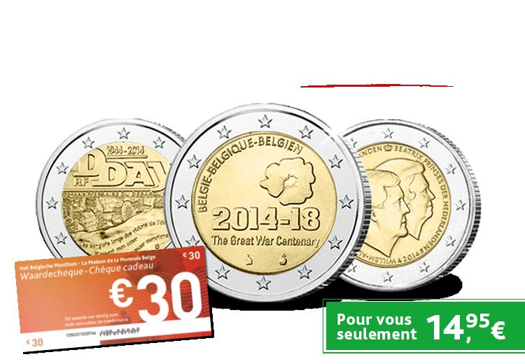 Saviez-vous que chaque Pays Euro peut émettre seulement 2 Euros Commémoratifs par an ?