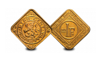 Le franc de guerre original et rare de Gand