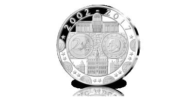 l'Emission Commémorative Officielle '15 ans Euro'