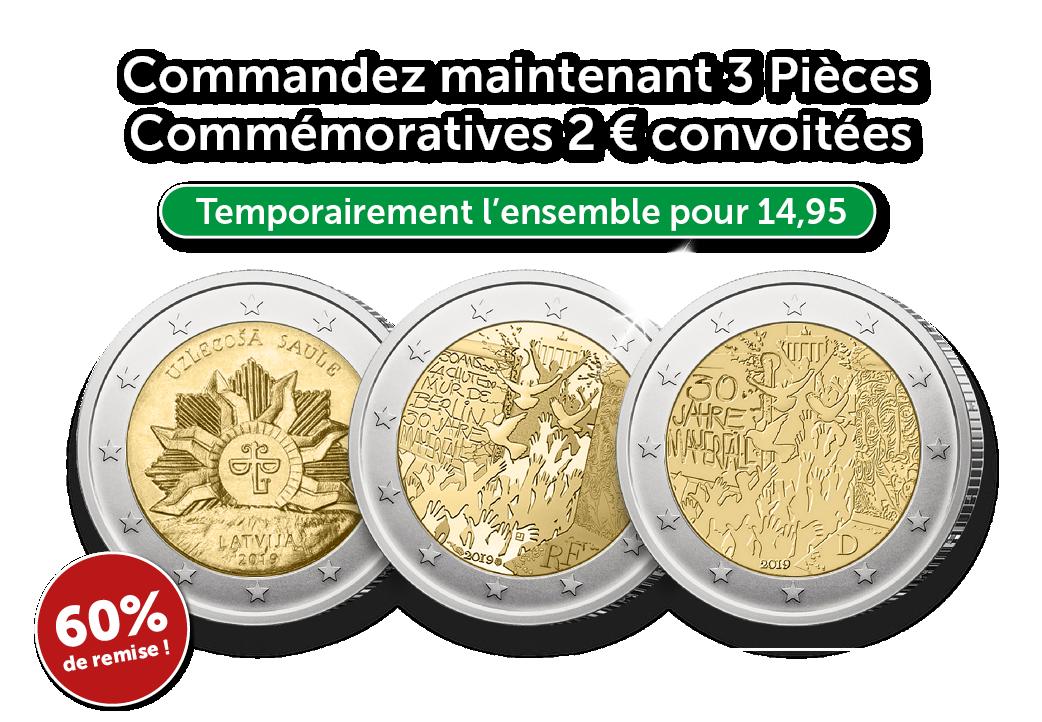 Ces pièces Euro, vous ne les trouvez pas dans votre portemonnaie !