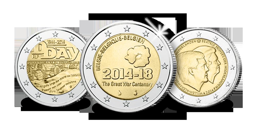 Les pièces commémoratives de 2 € les plus recherchées !