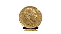 L'un des plus anciens francs belges en Or: 20 Francs 1865