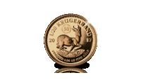 50 ans Krugerrand 1/20 Once 2017 en or massif