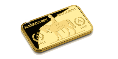 In Gold we Trust -  Roi-Chevalier Albert Ier