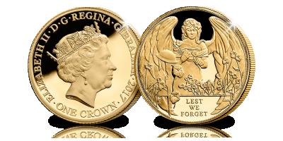 La Troisième Bataille d'Ypres commémorée avec une splendide pièce d'1 Crown