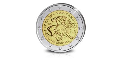 Disponible maintenant : la Pièce Commémorative de 2€ toujours populaire du Vatican