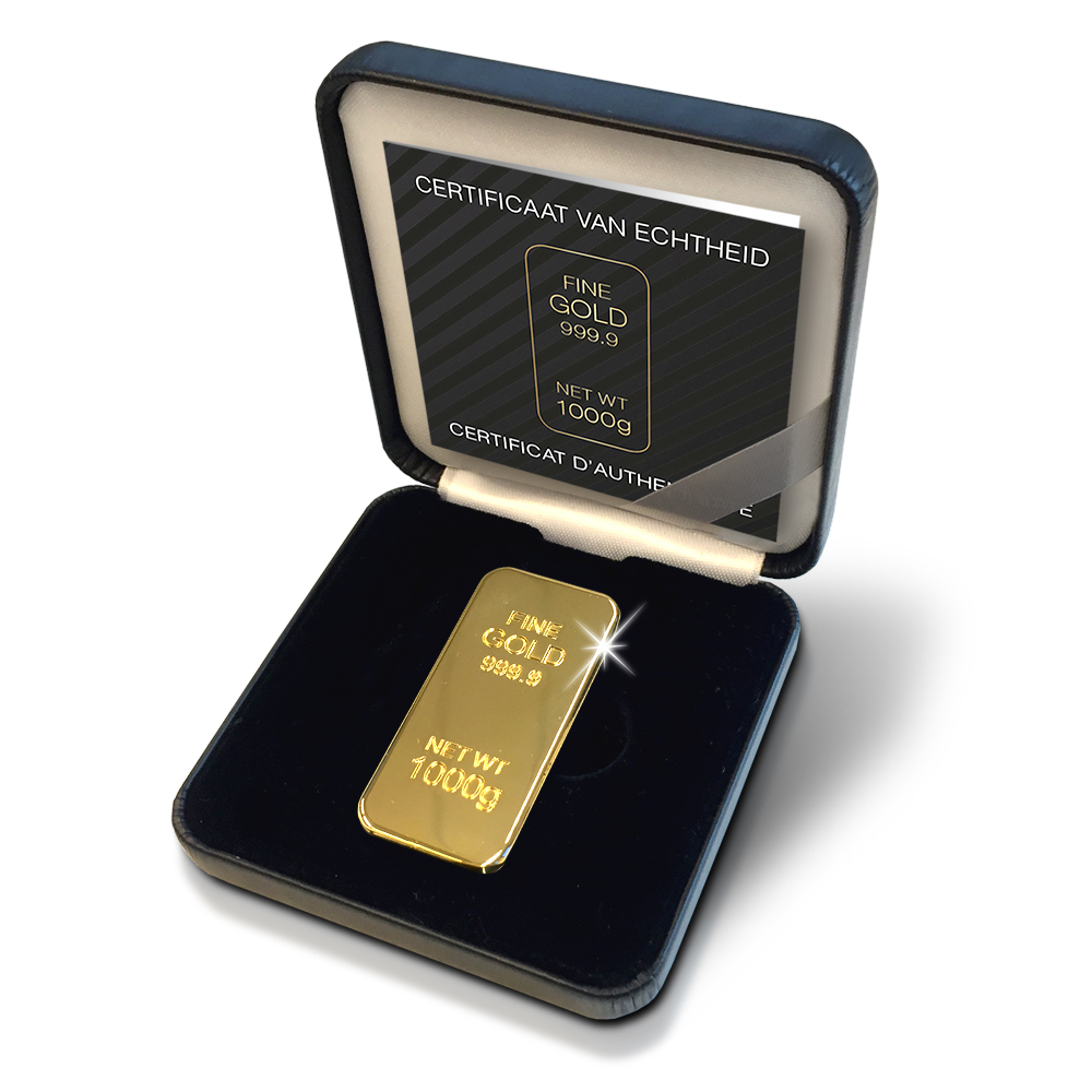 Gold Bar Replica in Box