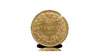 20-frank-1865-Achterzijde