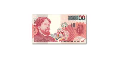 Le billet de banque de 100 Francs Belges 'Edition Collectioneur'