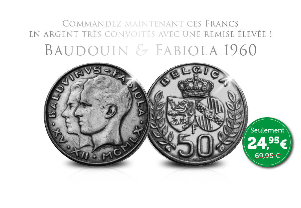 Debut de la collection L'argent Royal - Baudouin & Fabilola