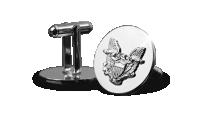 boutons de manchette Silver Eagle