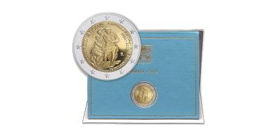 Pièce commémorative de 2 Euros, Cité du Vatican 2019 | Vos 2 € exclusifs du Vatican 2019 La Chapelle Sixtine