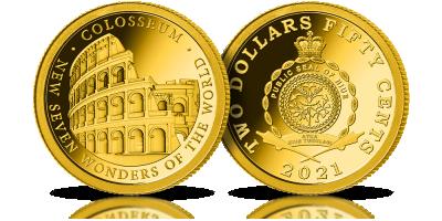 Le Colisée de Rome éternisé à jamais en or massif 24 carats !    Le Colisée de Rome éternisé à jamais en or massif 24 carats !