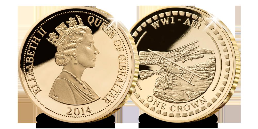Les premiers combats aériens plaqués à l'or de 24 carats