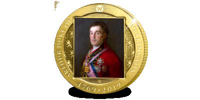 Votre Crown exclusive 2019 de Wellington plaquée or en l'honneur de 250 Ans Wellington