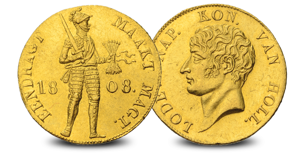 Le ducat d'or de Louis-Napoléon Type II