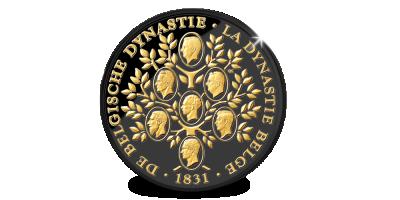 En l'honneur de la Dynastie Belge: Edition Limitée l'Arbre Généalogique en or noir
