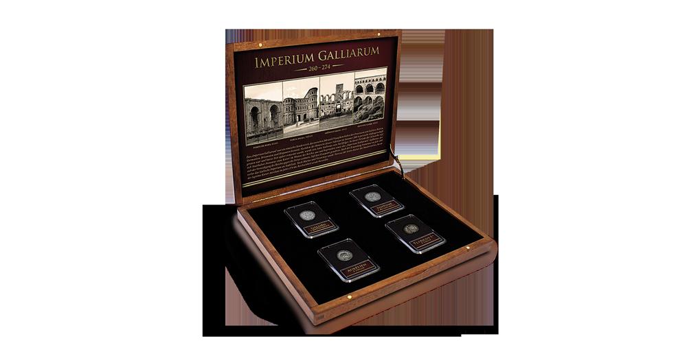 Acheter des pièces - Monnaies historiques - Ensemble Empire gaulois box