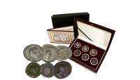 L'Empire des Gaules en 6 pièces en argent