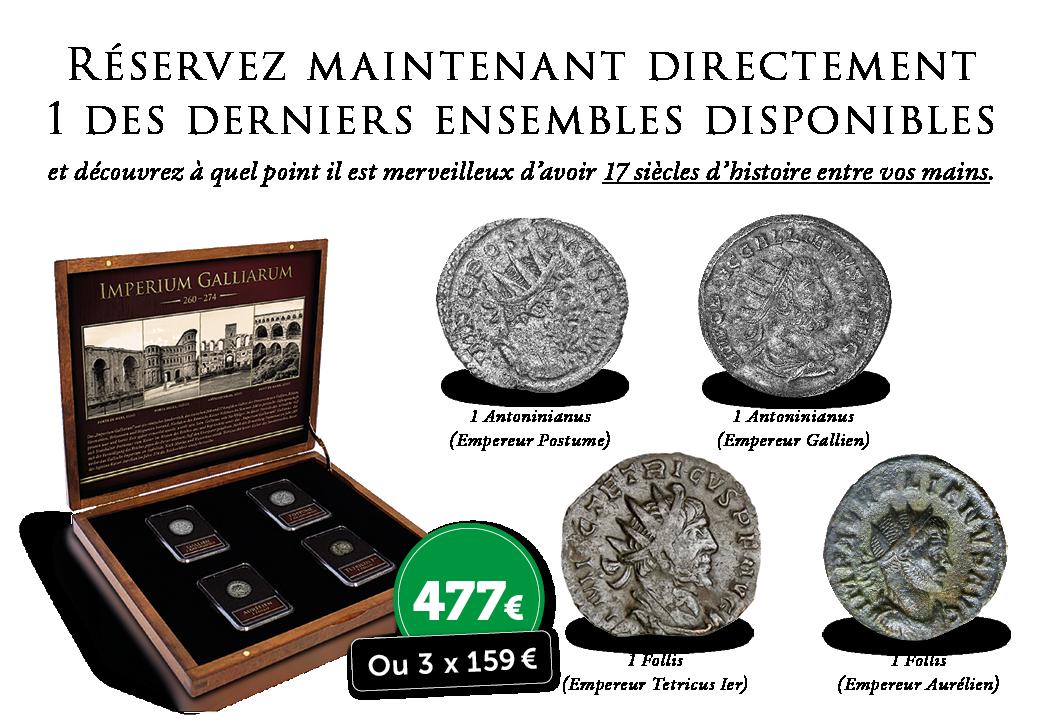 Patrimoine belge vieux de 1 700 ans dans votre collection privée ? C'est possible aujourd'hui!