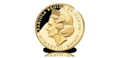 Hommage en or à la cinquième Reine des Belges