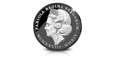 La Reine Fabiola « in memoriam » - émission rare avec de l'or noir