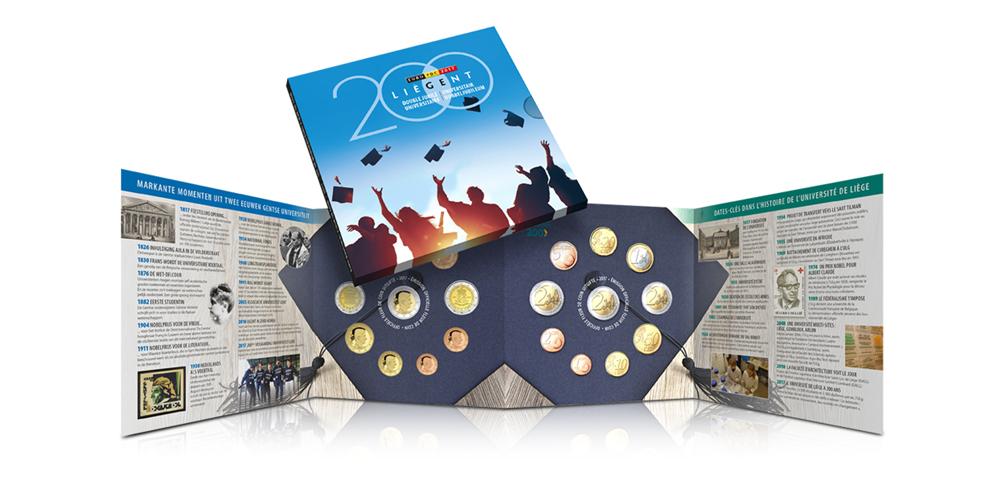 L'Ensemble Millésime Officiel 2017 de la Monnaie Royale de Belgique en édition limitée