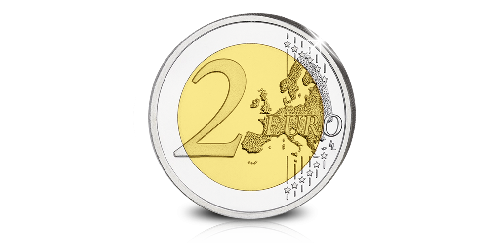 La toute nouvelle Pièce Commémorative de 2€ de la Monnaie Royale en qualité Prooflike