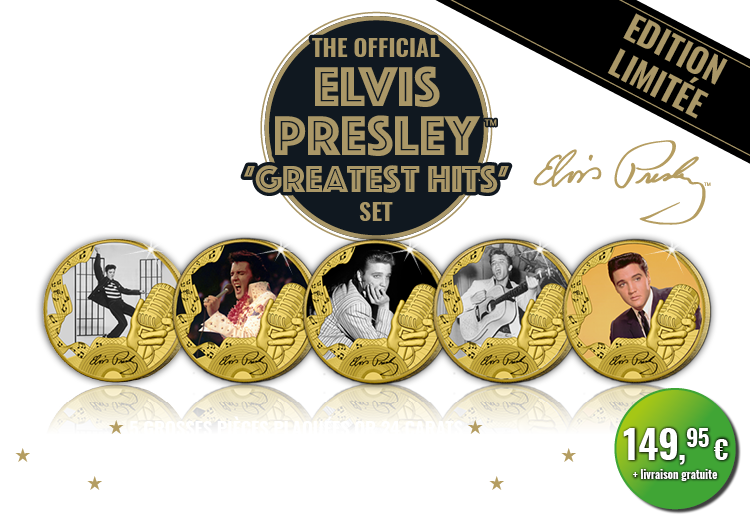 L'ensemble officiel des ''Greatest hits'' d'Elvis Presley