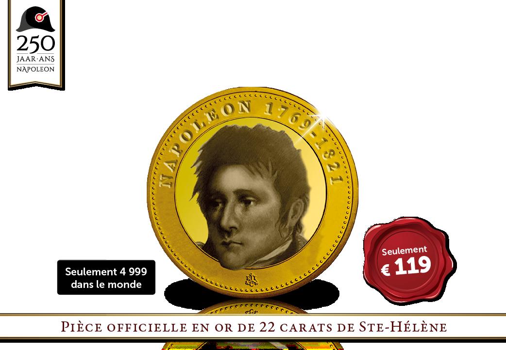 UNIQUE | Napoléon sur une pièce en or britannique !