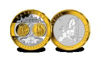 Hommage au tout premier Euro en Or du Vatican