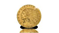 Les 2,5 Dollars type Indian Head - pour votre dossier de collection