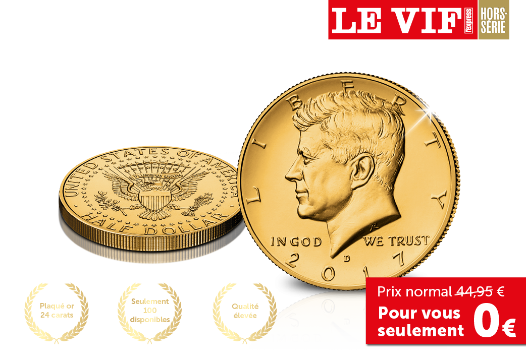 Le demi-Dollar Commémoratif JFK