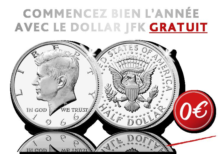 Le Dollar Kennedy original,  plus emblématiques et populaires