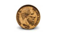 20 francs de léopold II