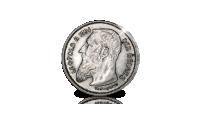 Ensemble complet des types des pièces de 1 Franc de Léopold II