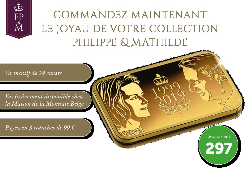 Commandez maintenant le joyau de votre collection Philippe & Mathilde