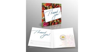 Votre lingot porte-bonheur en or pur d'1/100 once avec une carte-cadeau pour merci