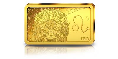 Votre lingot Lion en or pur