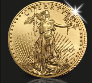 Le populaire Eagle de 22 carats d'or