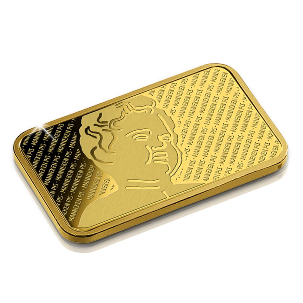 Barre d'or exemptée de la TVA de 2,5 grammes - 1/500 exemplaires numérotés individuellement