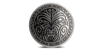 TK Maori Moko 1oz argent pur