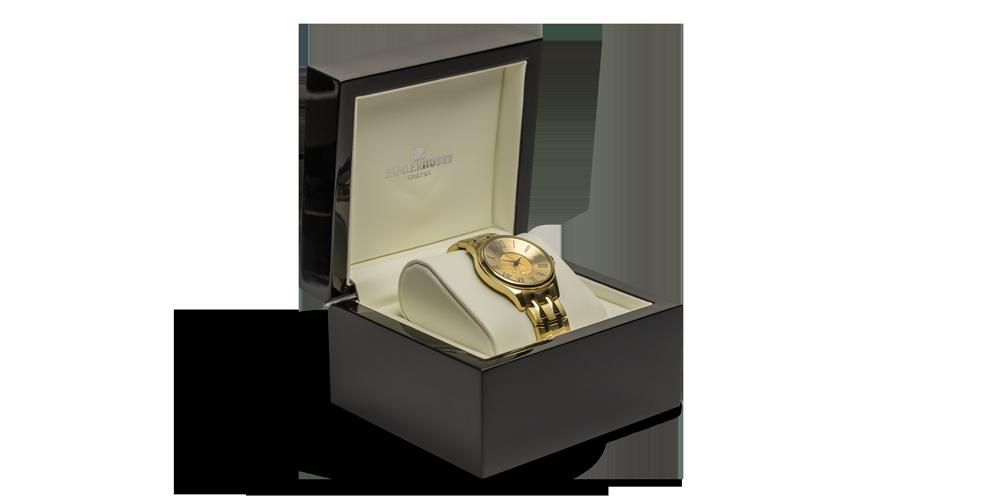 Acheter des pièces en ligne - Bijoux - Montre Femme Aigle Or 1/10 Oz box