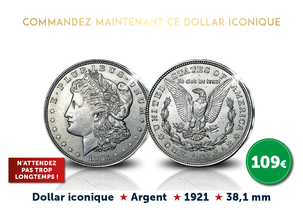Le dernier Morgan Dollar en argent