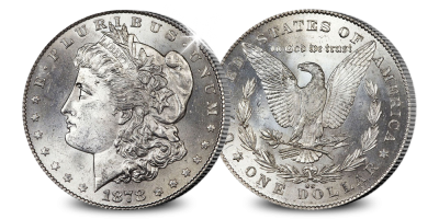 Un grand Dollar Morgan original en argent de l'époque du Far West | Le premier dollar Morgan de Carcon Cit
