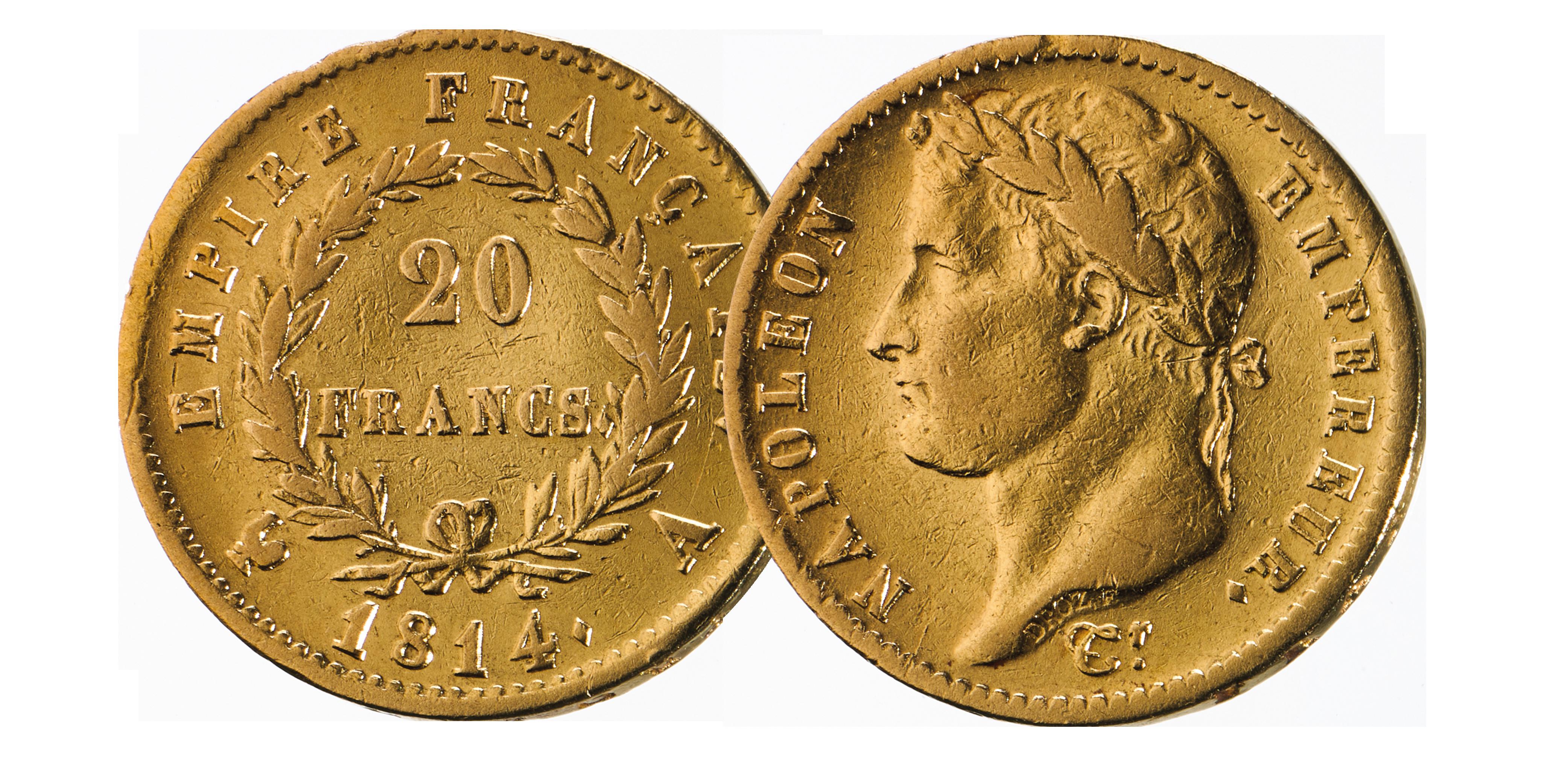 Ces magnifiques 20 Francs d'or vous attendent Or massif, 21,6 carats