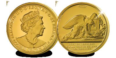 Pièce officielle de Ste Hélène où Napoléon  | Pièce officielle de Ste Hélène où Napoléon